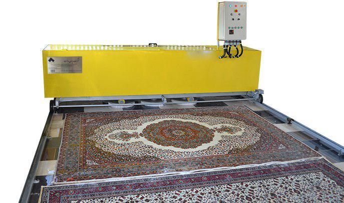 دستگاه قالیشور اتوماتیک ریلی