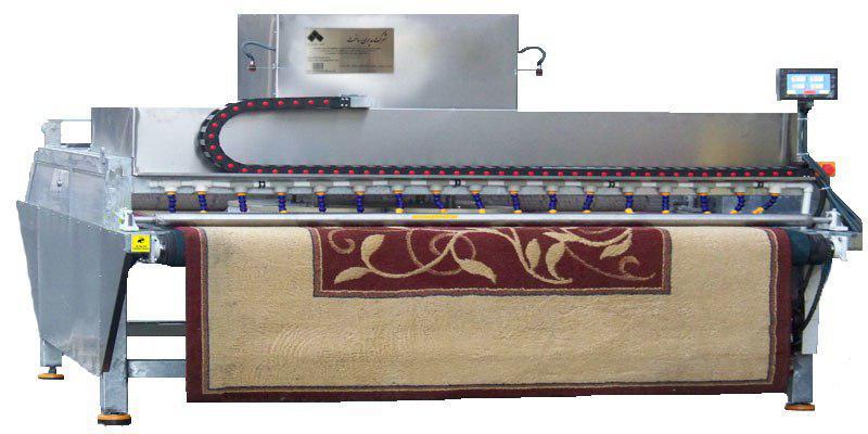 دستگاه قالیشور میزی اتوماتیک مدل s.b9b